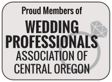 Proud Member of Wedding Professionals Association of Central Oregon